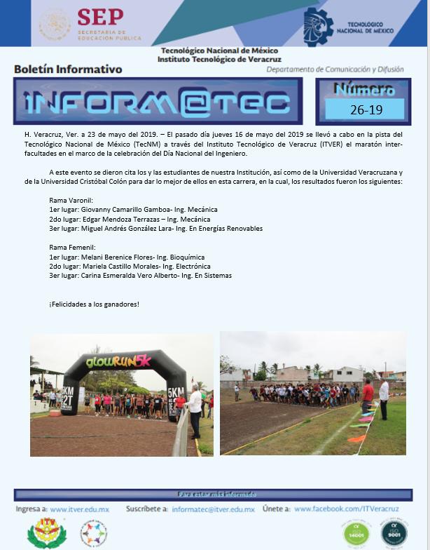 Maratón Inter Facultades