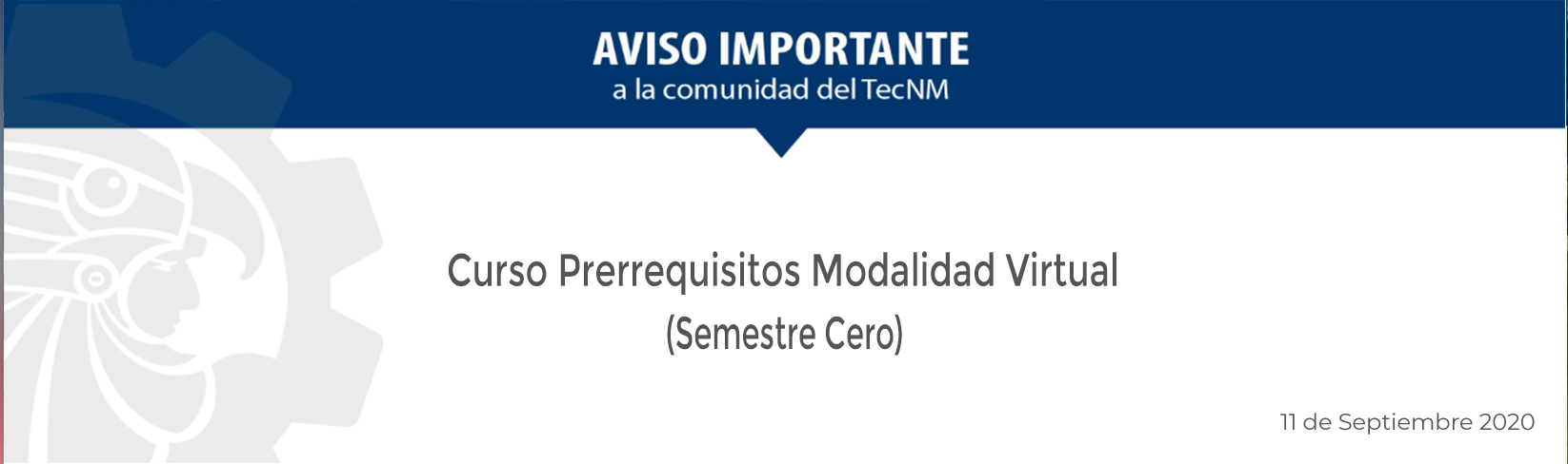 Convocatoria Prerrequisitos Actualizada