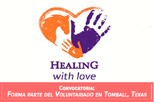 Convacatoria: Forma parte del Voluntariado Healing with love